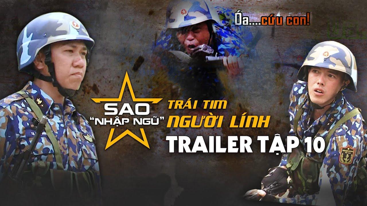 Sao nhập ngũ 2019   Trailer   Tập 10   La Thành & Jun Phạm sợ hãi tột độ