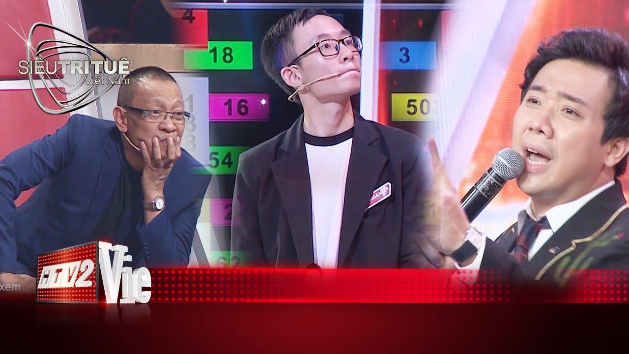 Phù thủy toán học Huy Hoàng ghi dấu với cú lội ngược dòng thay đổi tỉ số I #10 SIÊU TRÍ TUỆ VIỆT NAM