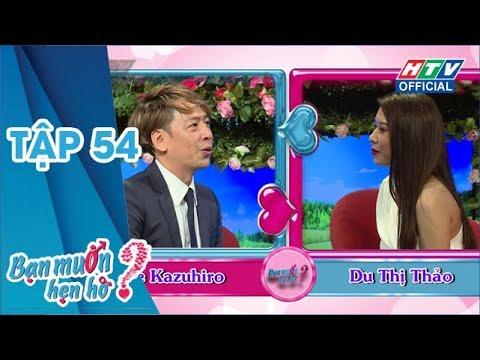 BẠN MUỐN HẸN HÒ 2019 | Chàng trai người Nhật của Thách thức danh hài tìm người yêu |BMHH 2019 #54