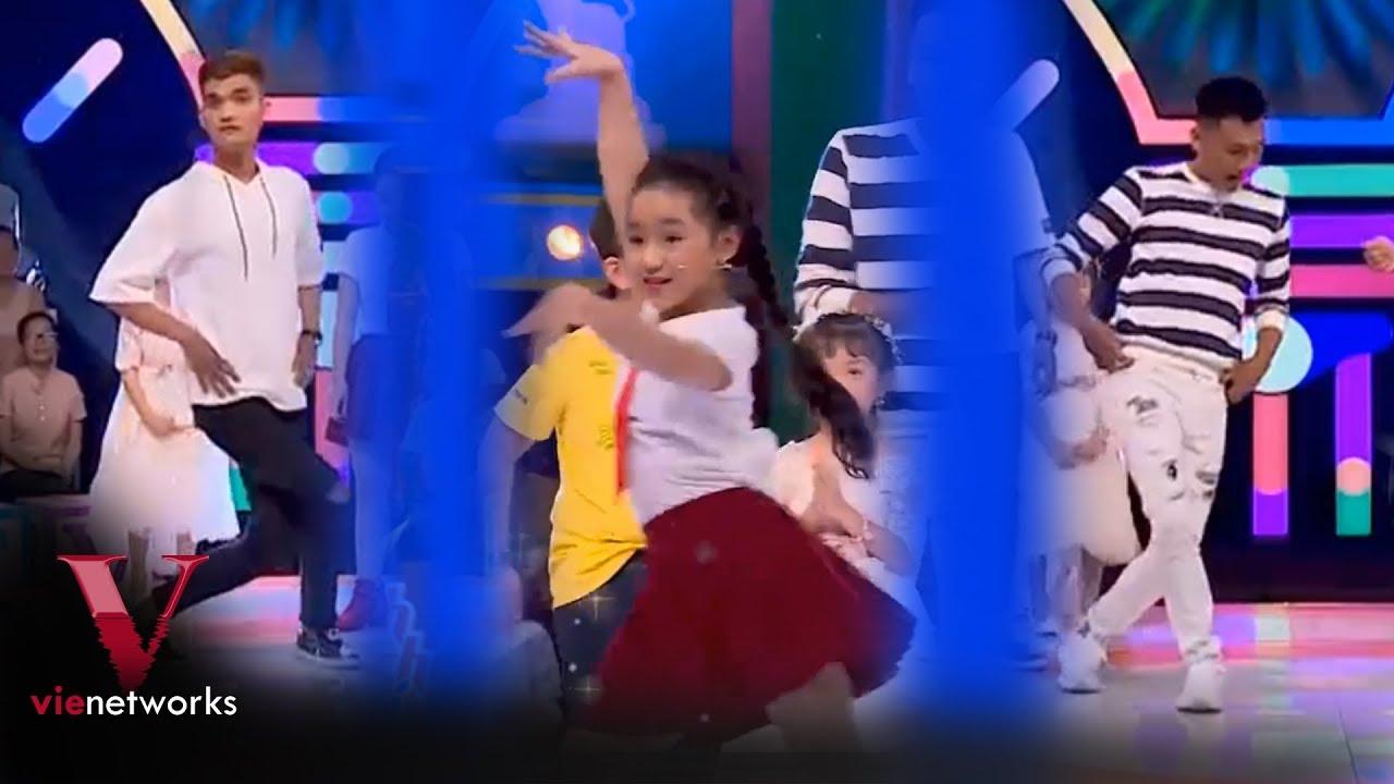 Hot girl Nhí Dance Sport dạy nhảy cho Trấn Thành, Xuân Nghị và Mạc Văn Khoa | Nhanh như chớp Nhí