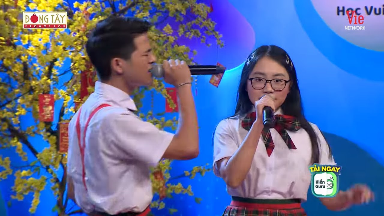 """Phương Mỹ Chi, Quang Anh song ca """"Đi để trở về"""" ngày đầu xuân"""