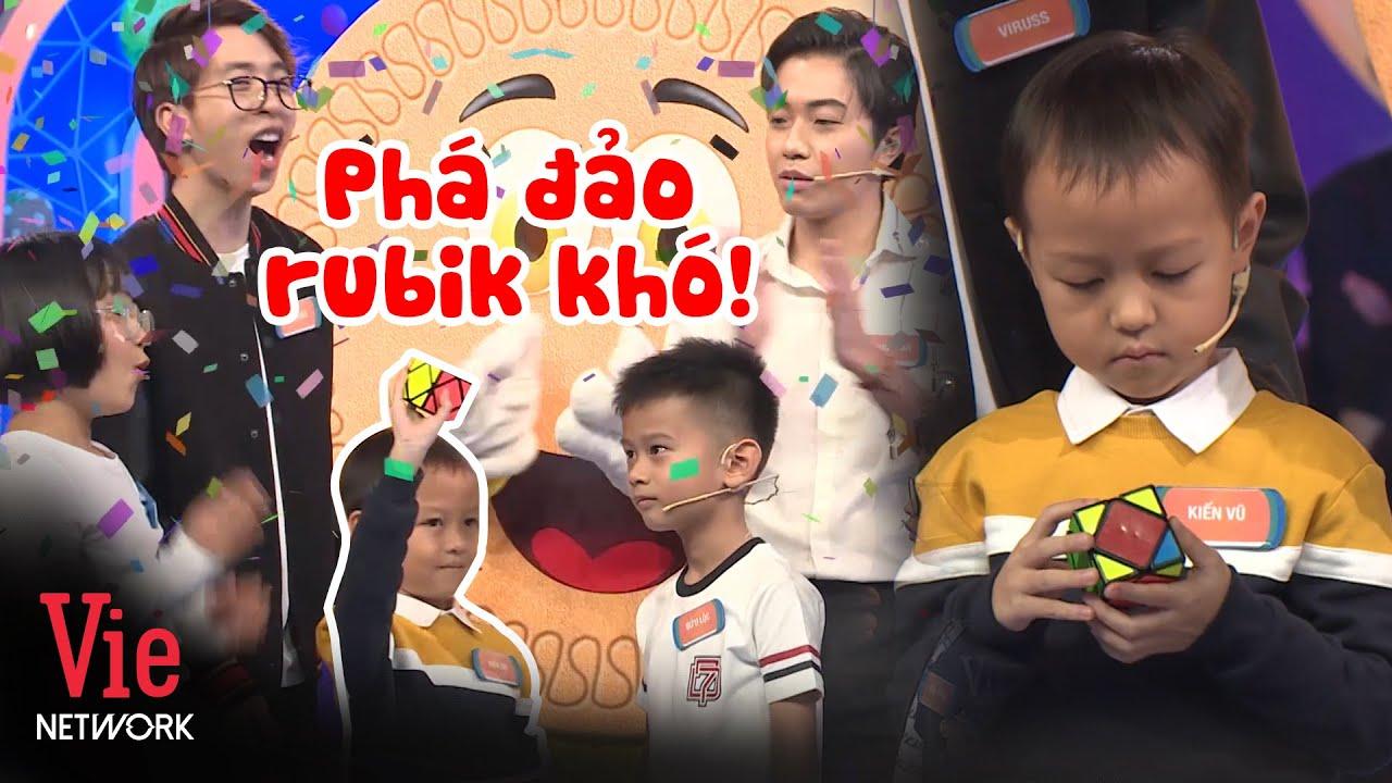 Mầm non 6 tuổi xuất sắc giải rubik khó, hứa hẹn khiêu chiến với Đức Phước Siêu Trí Tuệ VN | NNCN