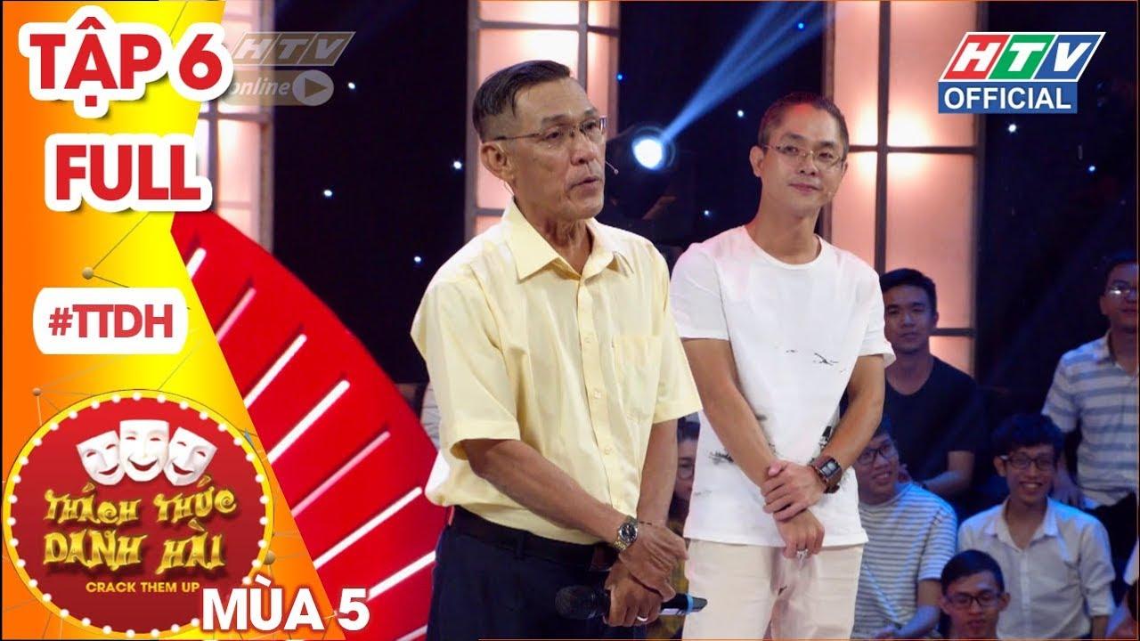 THÁCH THỨC DANH HÀI | Tài xế Grab 60 tuổi quyết tâm chọc cười hai giám khảo | TTDH #6 MÙA 5 FULL