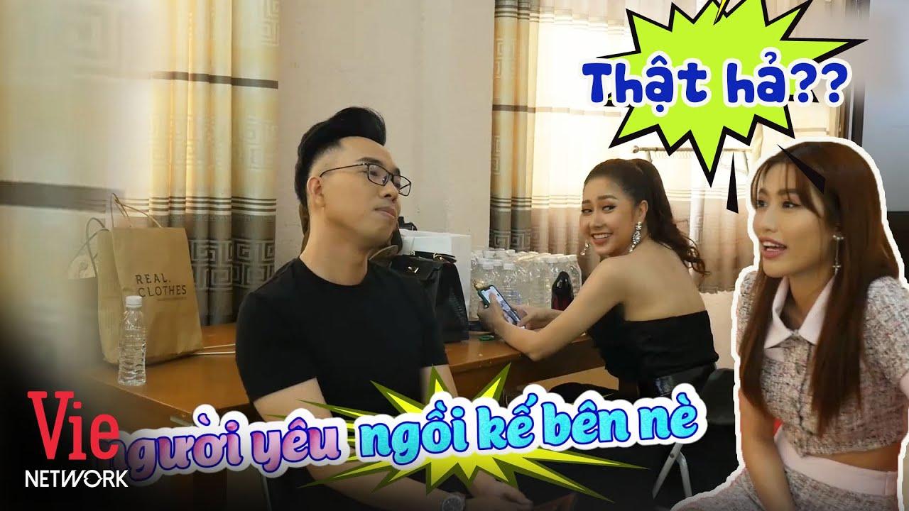 """Nguyễn Hồng Thuận thừa nhận đang """"hẹn hò"""" với Tường Vi khiến Chế Nguyễn Quỳnh Châu bất ngờ"""