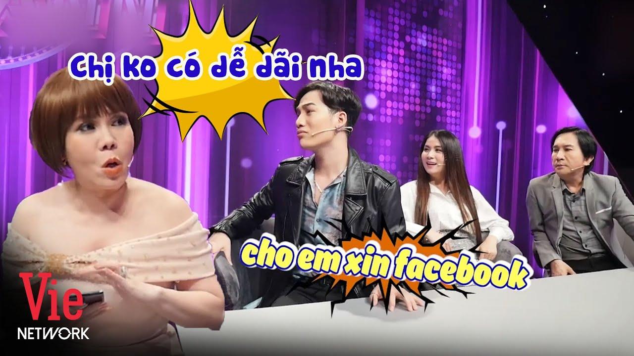 Ali Hoàng Dương năn nỉ xin Việt Hương add facebook nhưng nhận lại câu trả lời cực phũ | Ca Sĩ Bí Ẩn