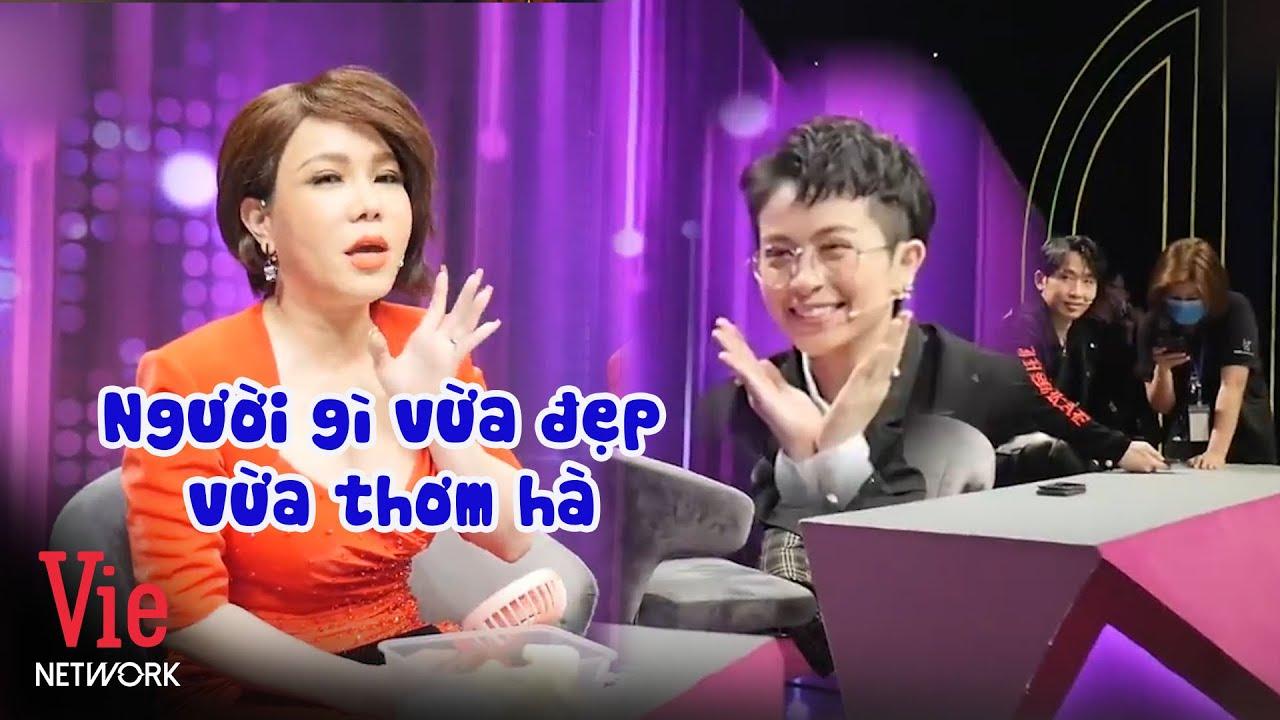 Việt Hương mời Gil làm đại sứ thương hiệu mỹ phẩm và tiết lộ hôn Gil Lê rất thơm