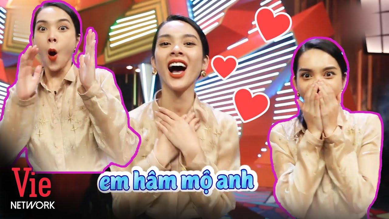 Đây là biểu cảm THIẾU NGHỊ LỰC của Quỳnh Lương khi nhìn thấy crush | Kỳ Tài Thách Đấu