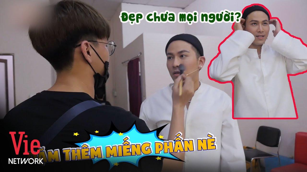 """Mai Tiến Dũng tiết lộ """"họa mặt"""" tận 6 tiếng rưỡi để tham gia show Ca Sĩ Bí Ẩn"""