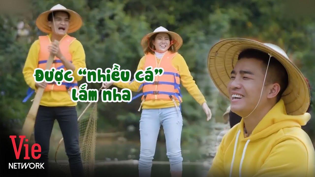 """Đỗ Duy Nam cười hả hê vì trình độ đánh bắt cá """"đỉnh cao"""" của Mạc Văn Khoa"""