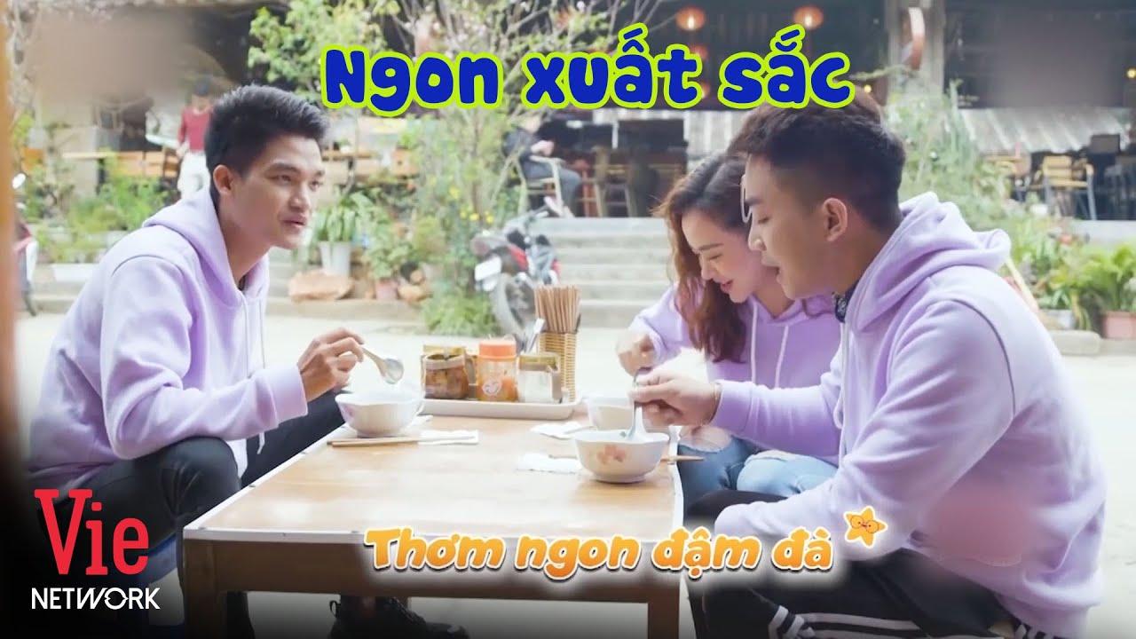 Mạc Văn Khoa, Đỗ Duy Nam trầm trồ khi lần đầu được thử nước xương hầm từ lợn đen nổi tiếng Hà Giang