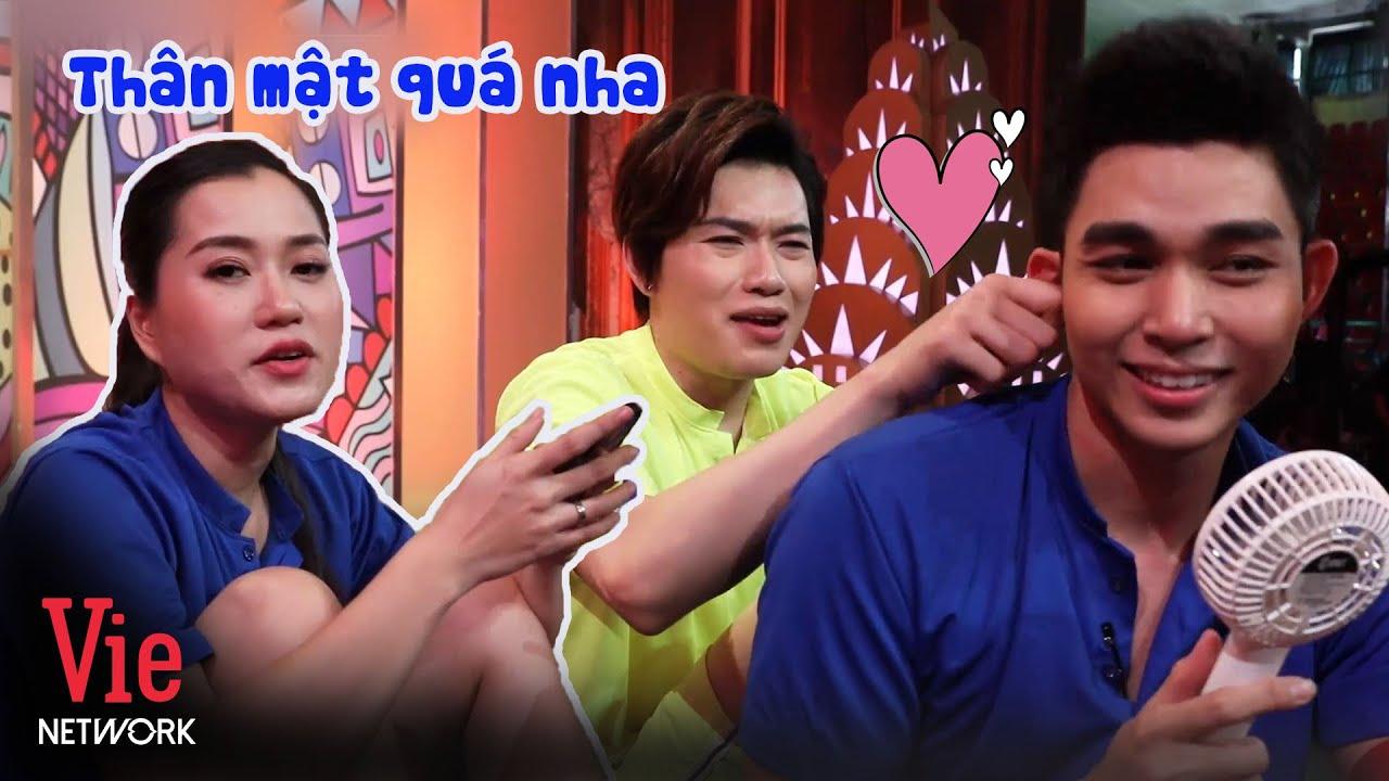 Lâm Vỹ Dạ nghi ngờ mối quan hệ giữa Jun Phạm và Quang Trung vì thường xuyên qua nhà nhau chơi