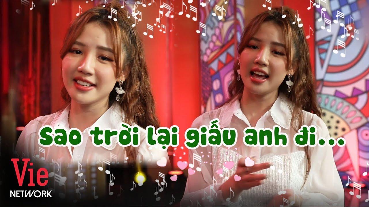 Amee hát live Trời Giấu Trời Mang Đi siêu đáng yêu sau hậu trường Kỳ Tài Thách Đấu