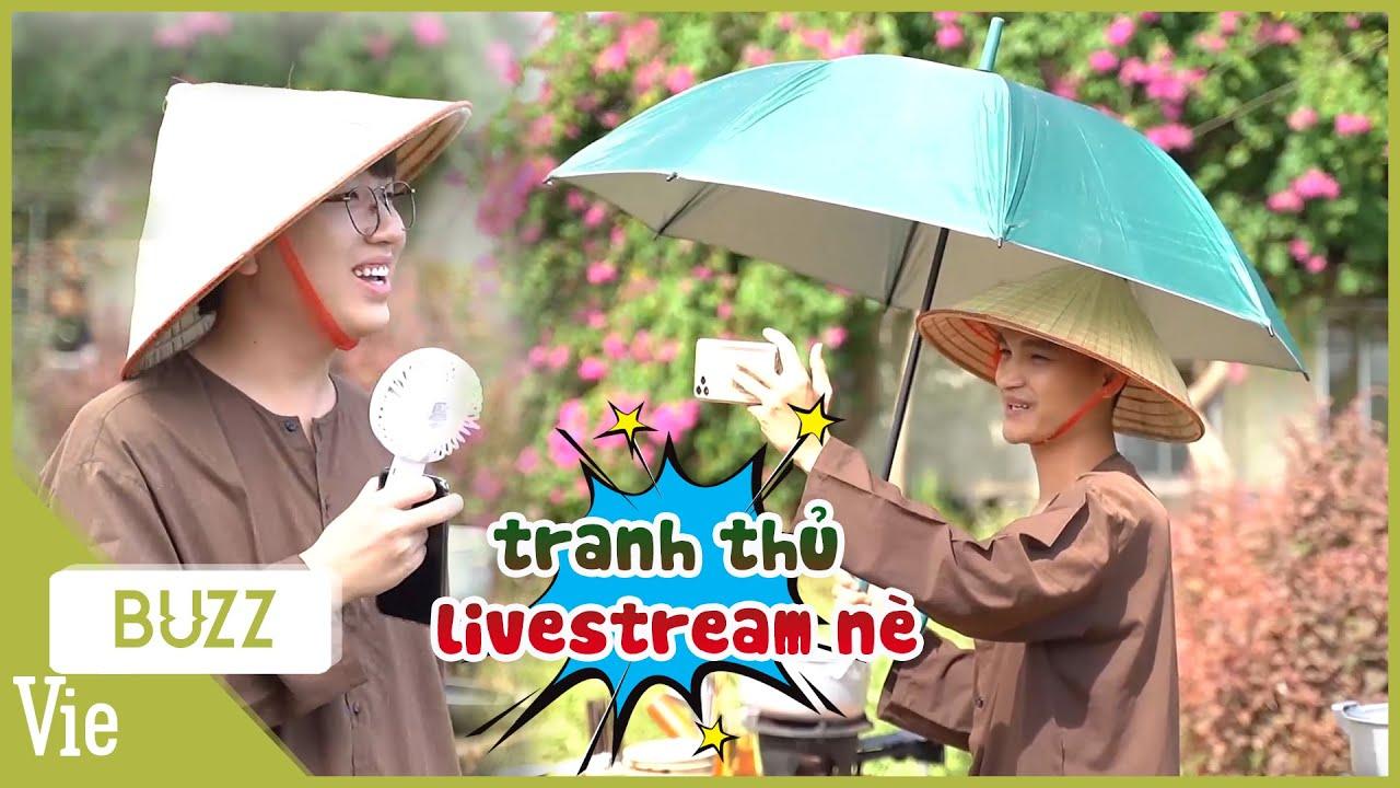 Mạc Văn Khoa bất chấp nắng nóng nhiệt tình livestream tương tác với fan cực đáng yêu |Ẩm Thực Kỳ Thú