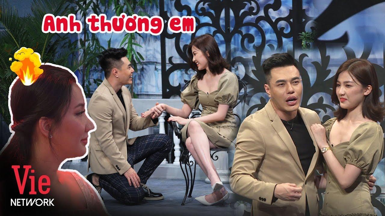 """Quỳnh Quỳnh nóng mặt khi ngồi dưới chứng kiến cảnh Dương Lâm ôm ấp """"Tuesday"""" Lương Thanh"""