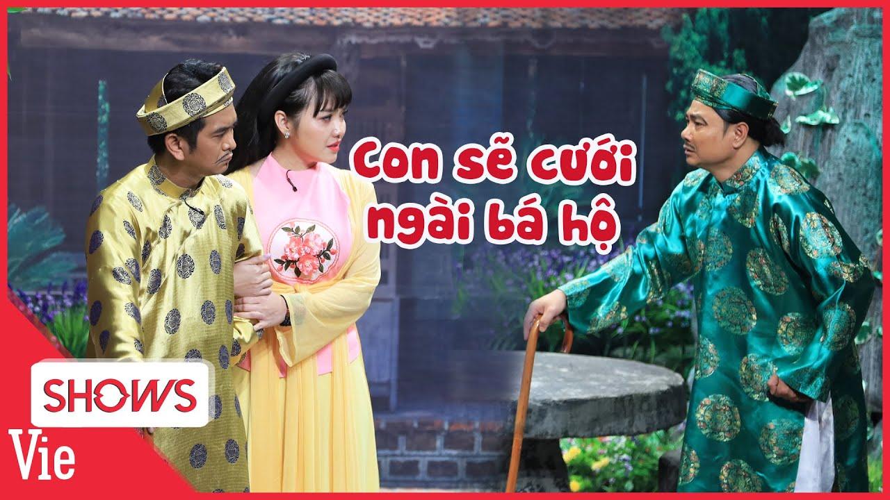 Hồng Kim Hạnh lấy nước mắt khán giả khi hy sinh tình cảm riêng để báo hiếu cha Tự Long