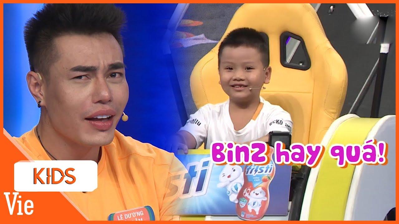 Binz nhí xuất sắc vượt Karik nhí giành chiến thắng cho anh Dương Lâm Đồng Nai | Nhanh Như Chớp Nhí