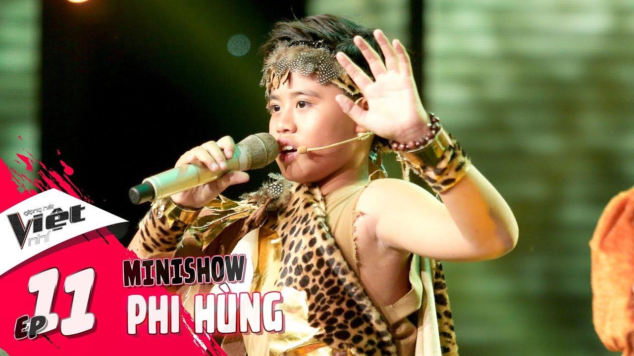 Trần Phi Hùng – Sơn Tinh (Rigoletto) | Part #2 | Tập 11 MiniShow - Giọng Hát Việt Nhí 2018