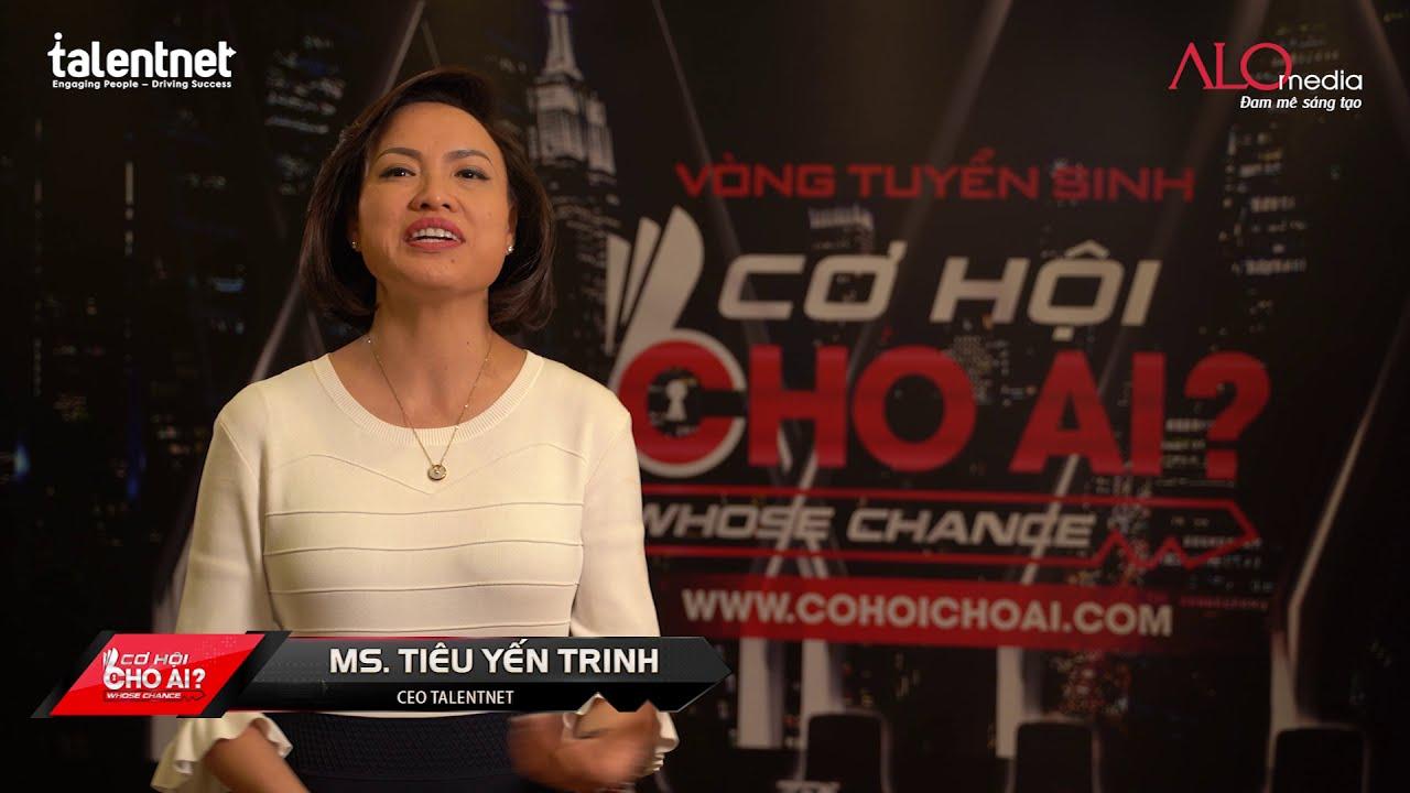CƠ HỘI CHO AI | TalentNet đối tác nhân sự mùa 2