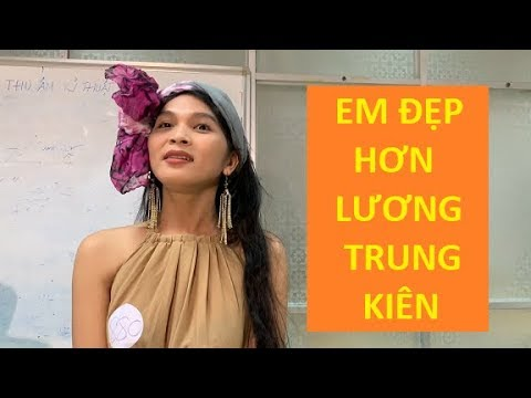 """Thách thức danh hài 6 xuất hiện chàng trai """"đẹp gái"""" hơn Lương Trung Kiên"""