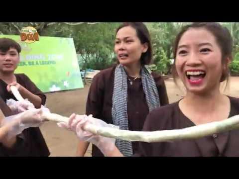 Khương Dừa và đồng đội làm chiếc gỏi cuốn dài nhất Việt Nam?