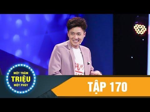 Một Trăm Triệu Một Phút Tập 170 lThuận Nguyễn,BB Trần,Hải Triều | Troll cùng Bắp Ca|VTV3 VIETCOMFILM
