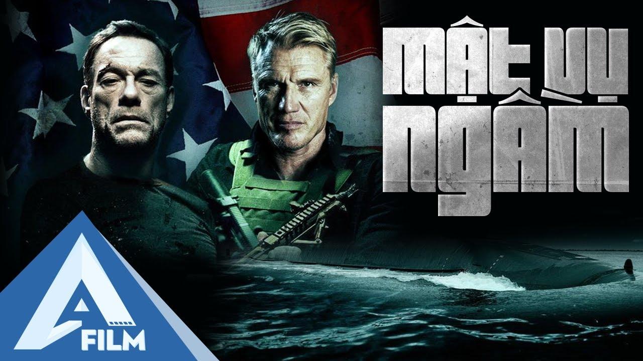 Phim Hành Động Mỹ Chiếu Rạp Mới Nhất 2021- MẬT VỤ NGẦM (Black Water) - Van Damme | Thuyết Minh
