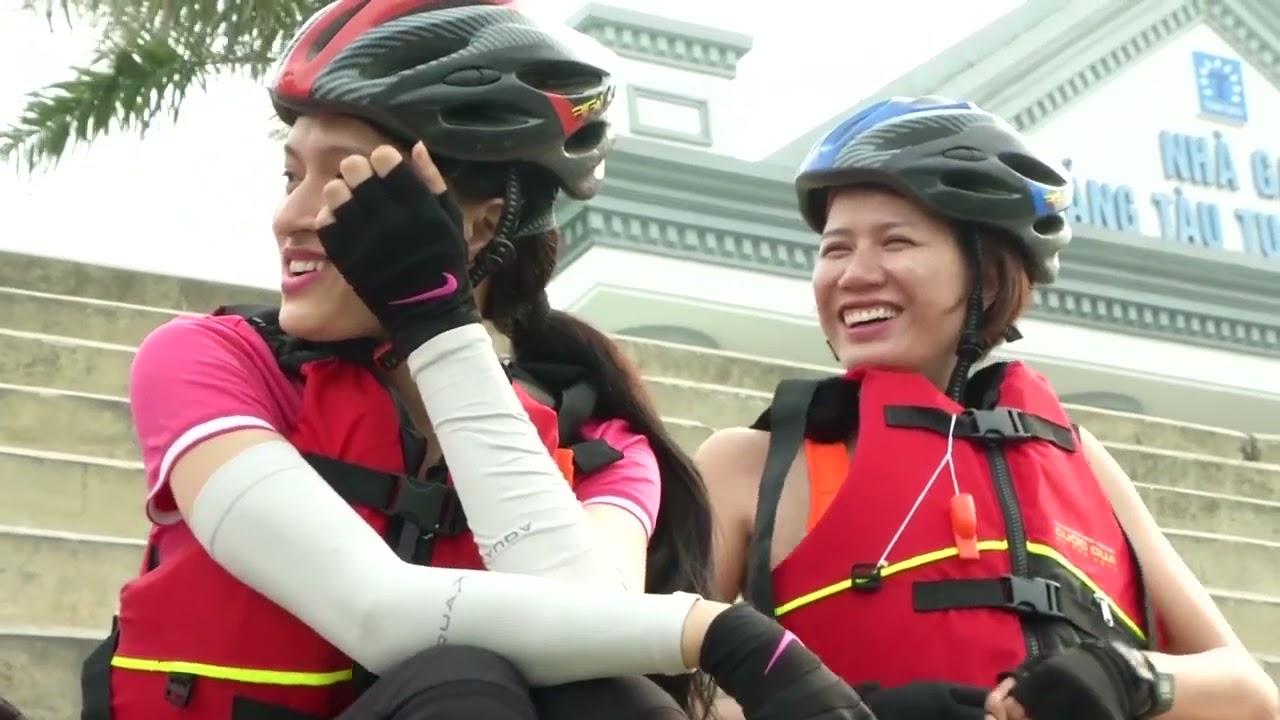 """Thử thách đầu tiên mang tên """"chèo kayak"""" khiến các đội xảy ra mâu thuẫn ?   Cuộc đua kỳ thú 2014"""